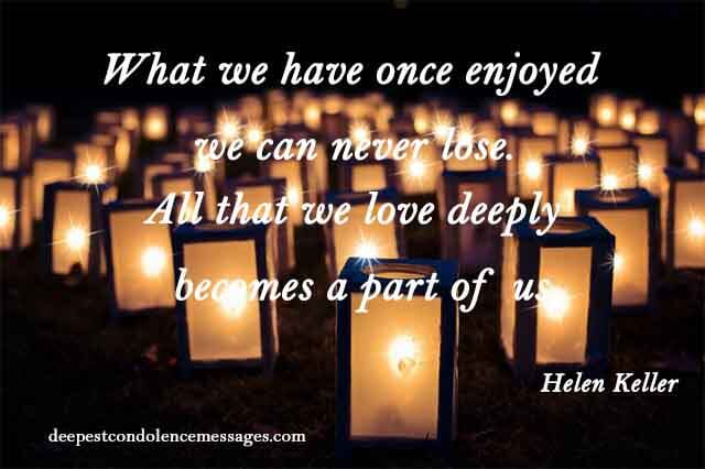 Condolence Quotes for Loss of a Grandmother