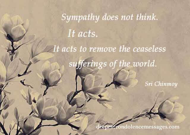 90 Sympathy Quotes - Find the right words in this moment of