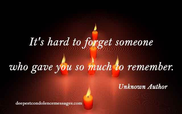 Sympathy Quotes for Loss of a Mother