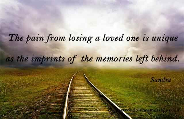 sympathy quotes for loss of a wife 1