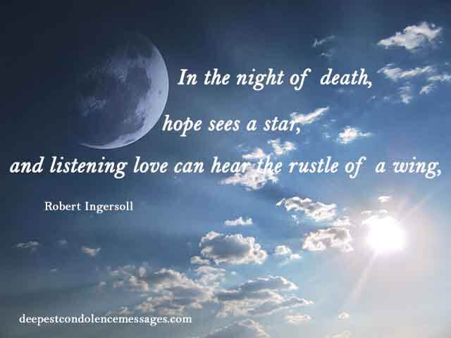 sympathy quotes for loss